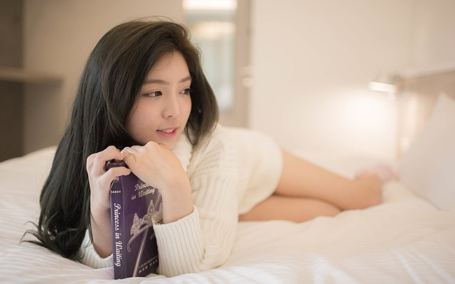 Girls, Book, New Jersey, Bed
