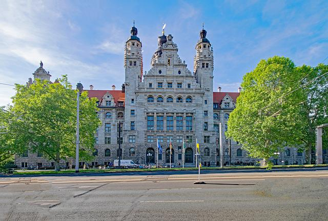 New Town Hall, Leipzig, Saxony, Germany, Architecture