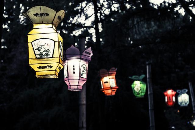 Lantern, Chinese, New Year, Chinese Lanterns