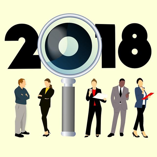 Searching, 2018, New Year, Job, Hr, Organization