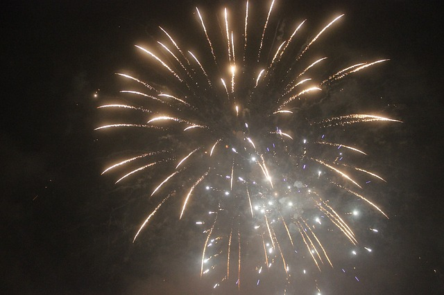 Fireworks, New Year's Eve, New Year's Day, Event