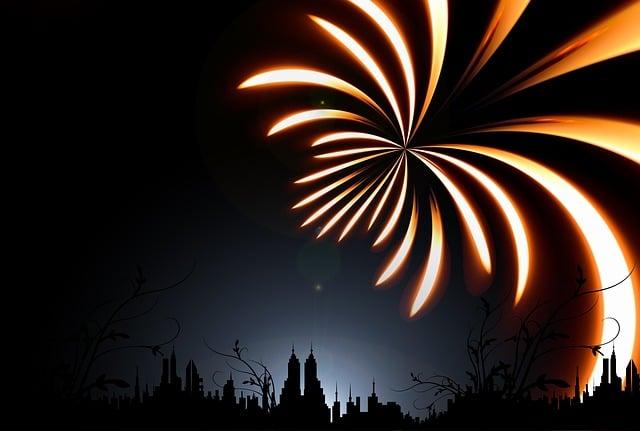 Sylvester, Rocket, New Year's Day, Celebration