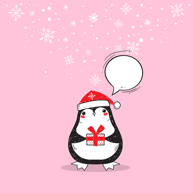 Christmas, Penguin, New Year's Eve, Bird, Winter