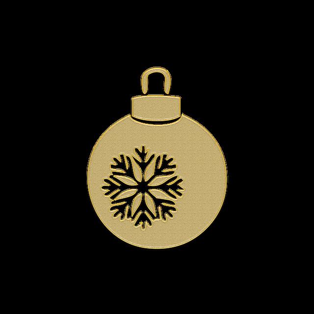 Christmas Ball, New Year's Eve, Christmas Tree, Holiday