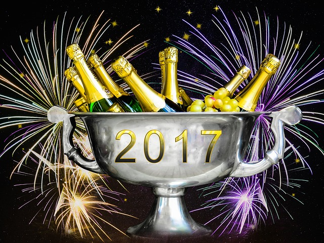 New Year's Eve, New Year's Day, Fireworks, 2017
