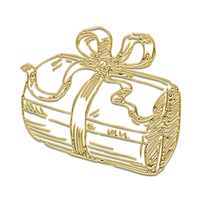 Gift, New Year's Eve, Box, Christmas, Holiday, Gold
