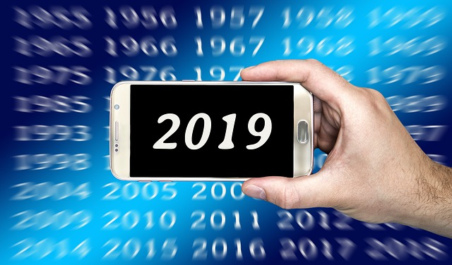 Calendar, Smartphone, New Year's Day, New Year's Eve