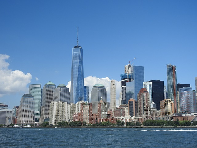 New York, City, America, 1 World Trade Center
