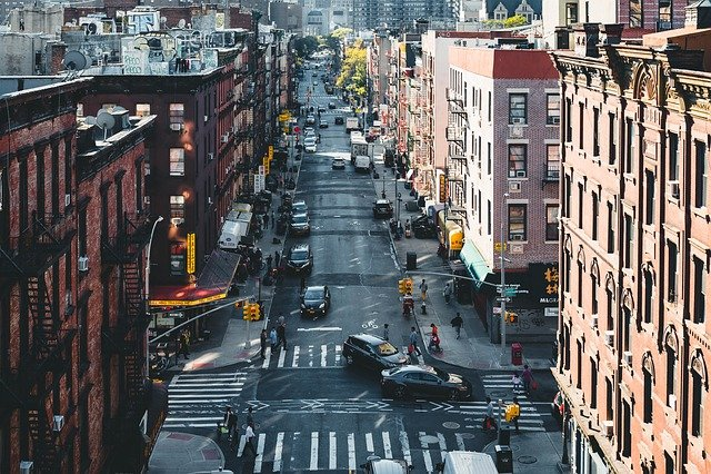 Chinatown, Streets, New York, America, Usa, Nyc, Autos