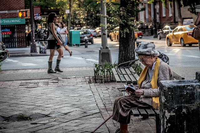 Park Bench, New York City, Street Photography, New York
