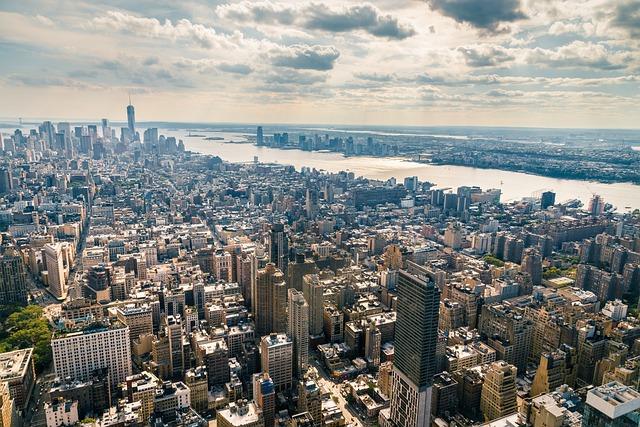 Manhattan, Nyc, New York, City, America, Usa