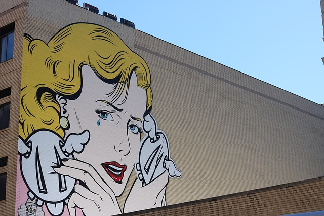Street Art, New York, Woman, Graffiti, Wall, Artistic