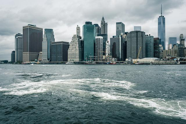 Outdoors, New York, Skyline, Nyc, City, Architecture