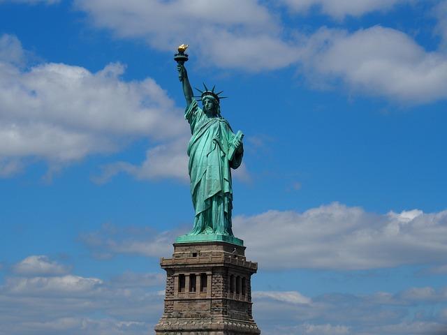 New York, Statue Of Liberty, Liberty Island