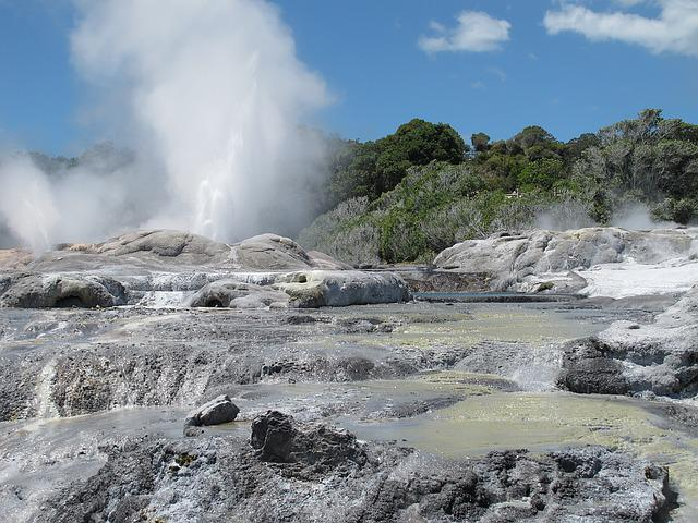 Terrestrial Heat, Fountain, New Zealand