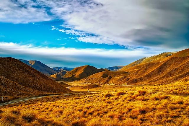 New Zealand, Sky, Clouds, Landscape, Scenic, Nature