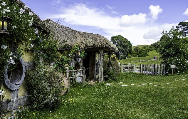 New Zealand, Hobbit, Hobbiton, Tourism, Travel, Nz