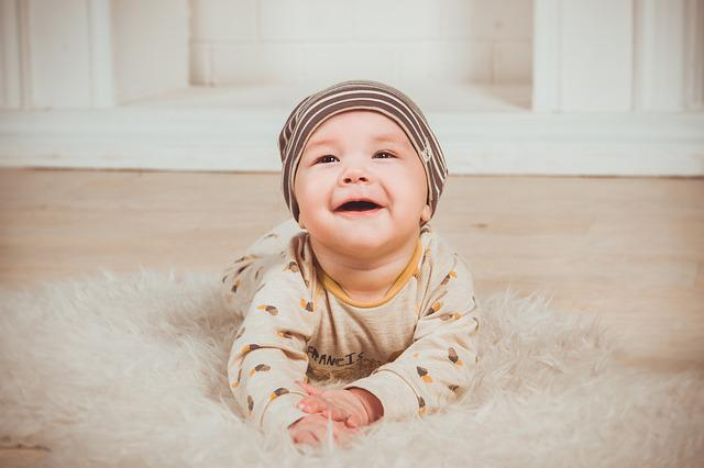 Babe, Smile, Newborn, Small Child, Boy, Person, Smiles
