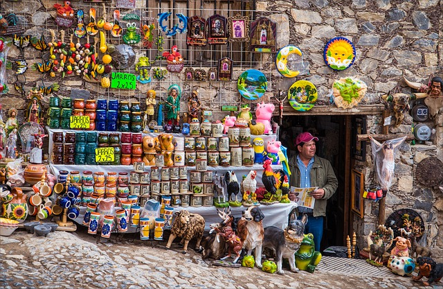 People, Market, Sell, Mexicans, Mexico, News, Pottery