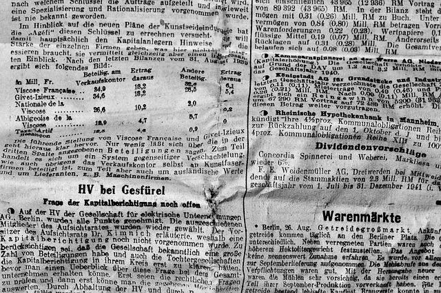 Free photo Newsprint Font Old Script Newspaper Daily Newspaper - Max