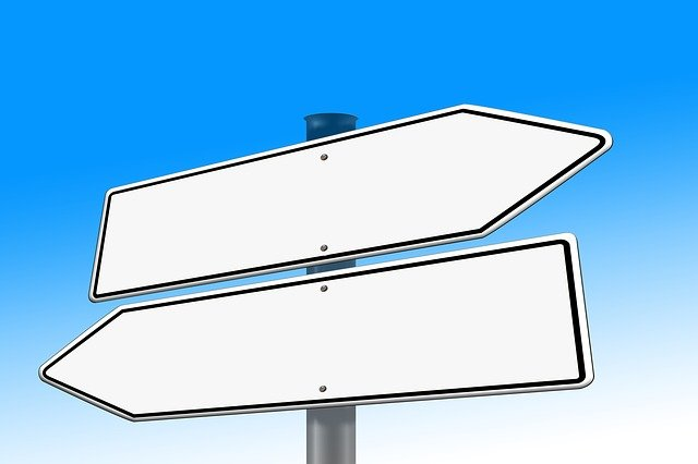 Right, Next, Note, Road Sign, Direction, Decision