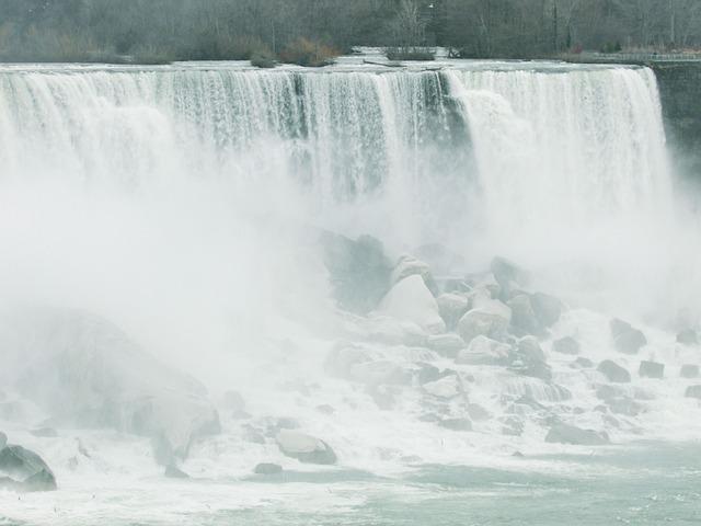 Niagara, Falls, River, Ontario, Canada, Niagara Falls