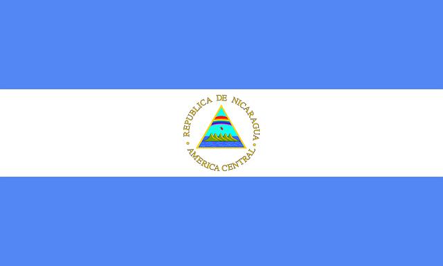 Nicaragua, Flag, Symbol, Country, Nation, Nicaraguan