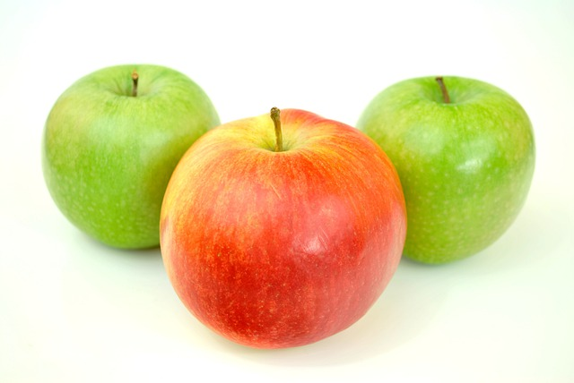 Nice Apples, Green, Eating Healthy, Healthy Food