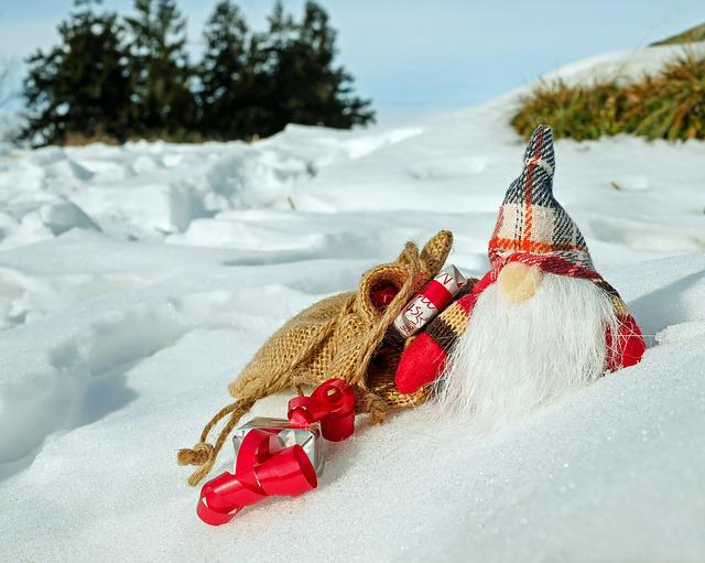 Santa Claus, Christmas Motif, Figure, Nicholas, Gifts