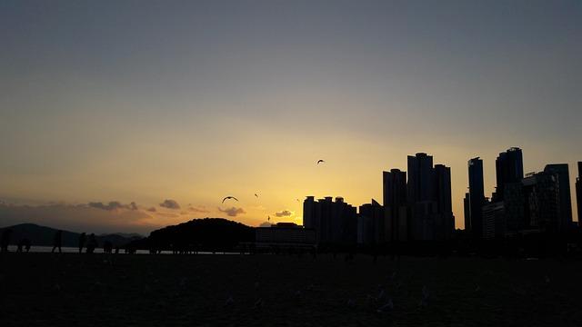 Glow, Sea, Night Beach, Landscape