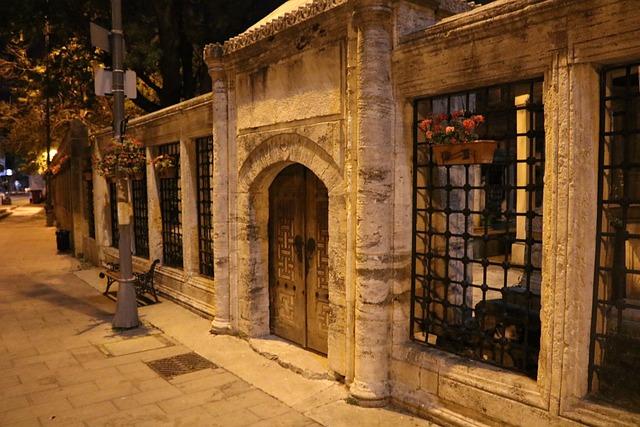 Istanbul, Cami, Worship, Turkey, Night, Light, Islam