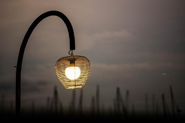 Lamp, Night, Light, City, Decoration, Street