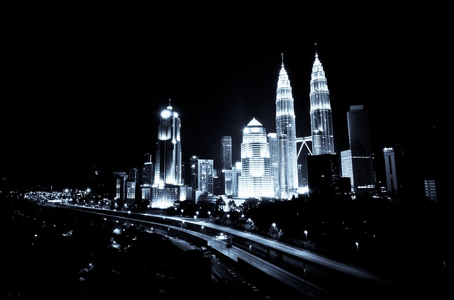 Kuala Lumpur, Urban, Night, Building, Modern