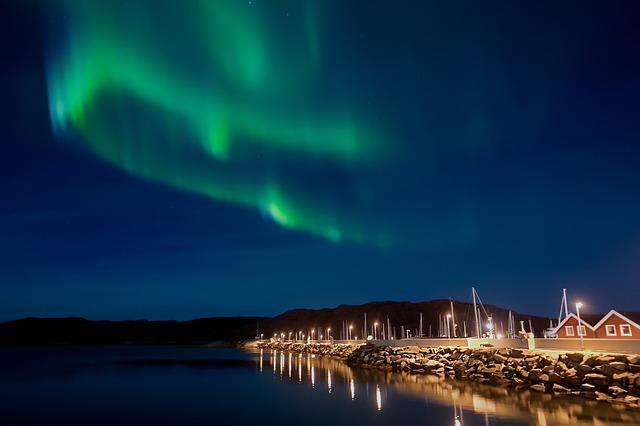 Northern Lights, Aurora Borealis, Night, Aurora