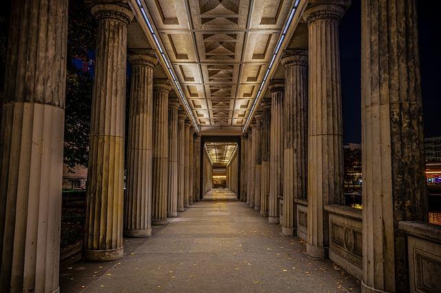 Night Photograph, Long Exposure, Architecture