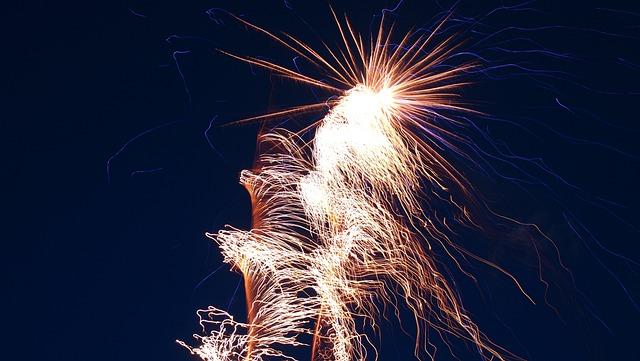 Fireworks, Salute, Sky, Night, Holiday, Shots, Bulgaria