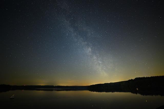Milky Way, Night, Star, Starry Sky, Astro, Space