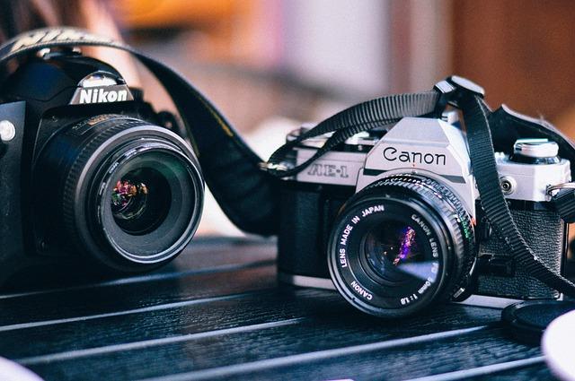 Cameras, Canon, Lens, Nikon