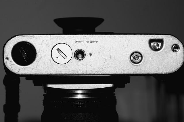 Movie Camera, Nikon F3 Bolt, Camera Breechblock