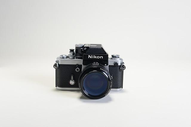Vintage, Ancient, The Camera, Camera, Nikon