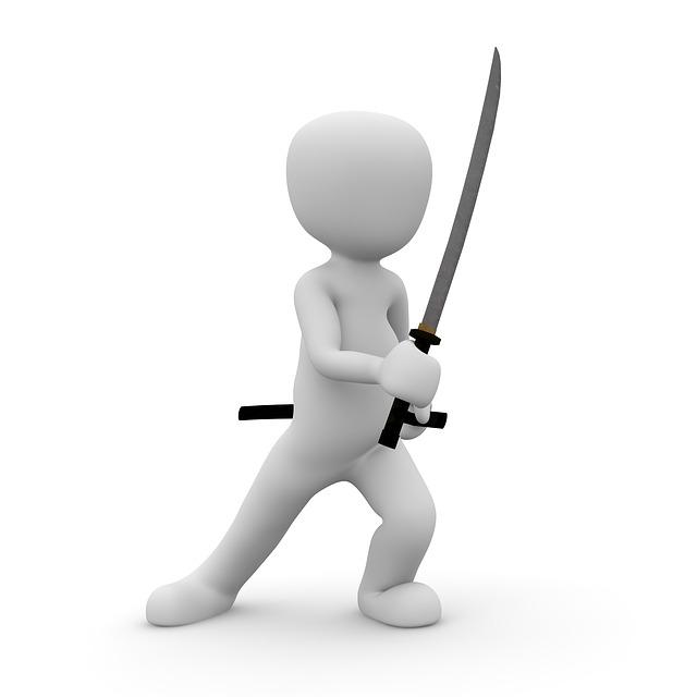 Ninja, Fighter, Sword