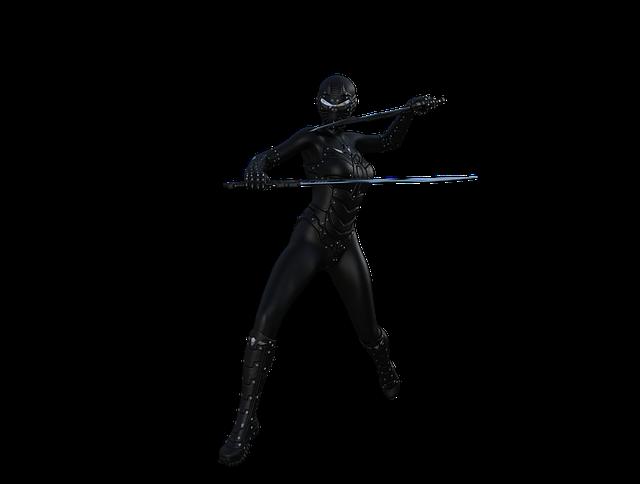 Ninja, Warrior, Character, Samurai, Martial, Japanese