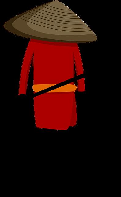 Free photo Man Cartoon Warrior Ninja Sword - Max Pixel