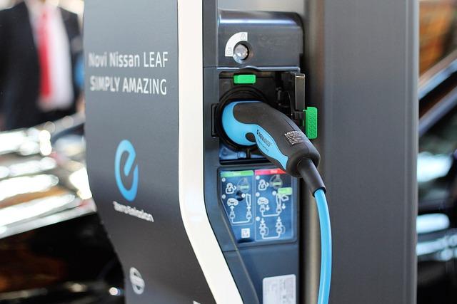 Charging Station, Nissan Leaf Charging