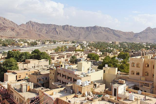 Nizwa City, City, Beautiful, Old Town, Architecture