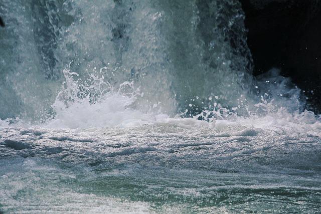 Water, Surf, Nature, Spray, Ocean, No One, Sea, Wave