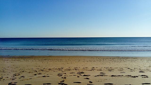 Body Of Water, Sand, Beach, No Person, Sea, Ocean