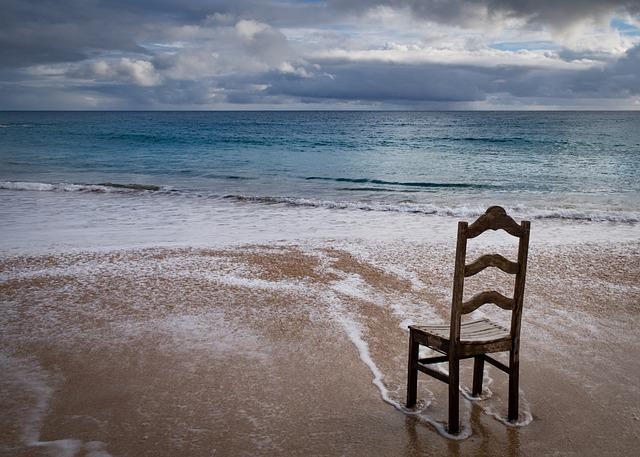 Beach, Sea, Sand, Body Of Water, No Person