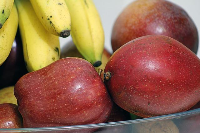 Detail, Apple, Fruit, Manga, Banana, Food, No Person