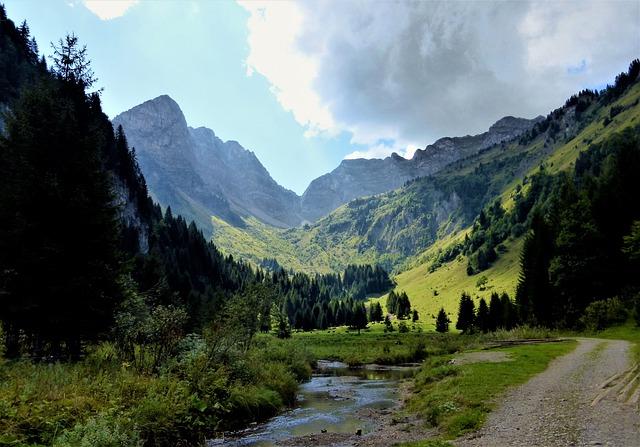 Nature, France, Alps, Mountain, No Person, Outdoor